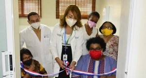 SEMMA Santo Domingo inaugura consultorios ginecológicos especiales para discapacitadas