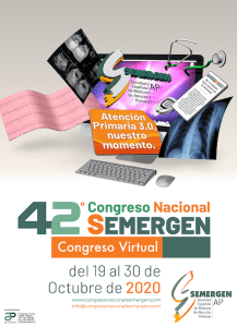 """42 Congreso Nacional SEMERGEN""""El valor de la Atención Primaria"""""""