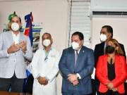 Promese/Cal entrega medicamentos e insumos al Antonio Musa de San Pedro de Macorís