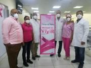 Residencia de Medicina Familiar del Moscoso Puello cierra mes lucha contra cáncer con operativo preventivo