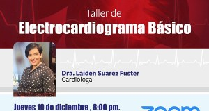 Medicina Familiar hará taller de Electrocardiograma Básico