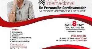 Realizarán simposio sobre Prevención Cardiovascular en la tercera edad