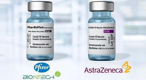 Dos dosis de Pfizer y AstraZeneca son efectivas contra la variante Delta, según estudio