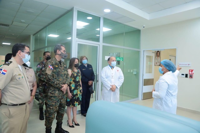 Comisión Fuerzas Armadas visita Hemocentro Nacional interesados en creación banco de sangre y hemoderivados para militares