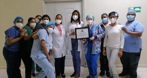 """El Rodolfo de la Cruz Lora logra certificado por mérito al """"Correcto Mantenimiento"""" en la premiación Mejor Desempeño Hospitalario"""