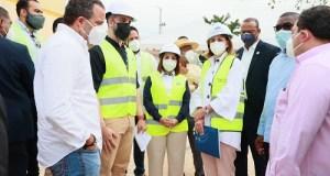 Vicepresidenta Raquel Peña y director SNS supervisan hospitales del Este
