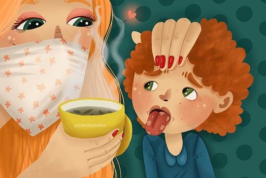 herpes en lengua