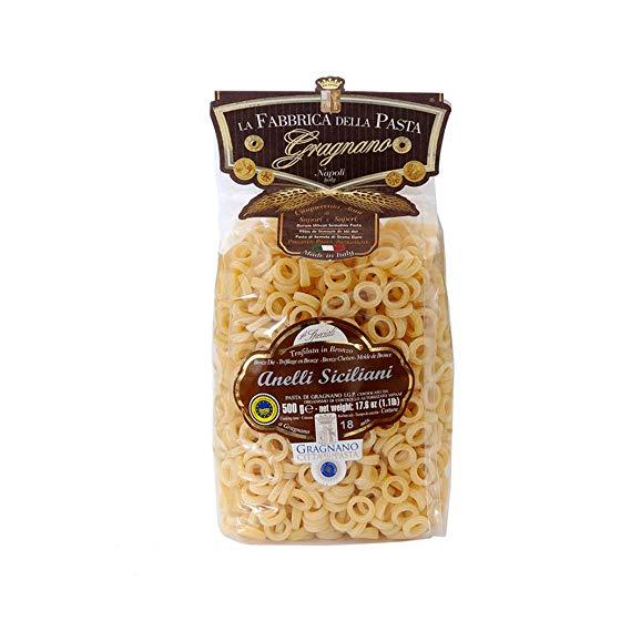 anelli siciliani - la fabbrica della pasta