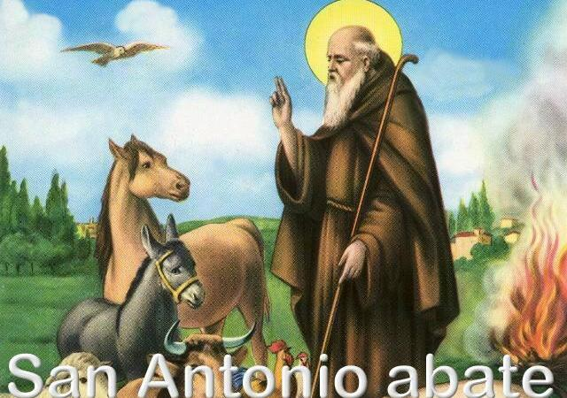 Sant'Antonio abate la festa contadina di Vigellio