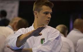 Dimostrazione di karate, al Polivalente Comunale, con il campione europeo Vittorio Prin Clari