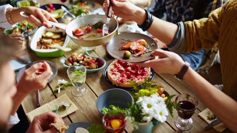 Il pranzo autunnale degli alpini di Salussola