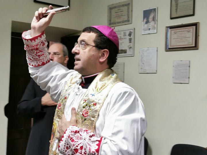 Foto / Il vescovo ha inaugurato il nuovo Salone dei Canonici