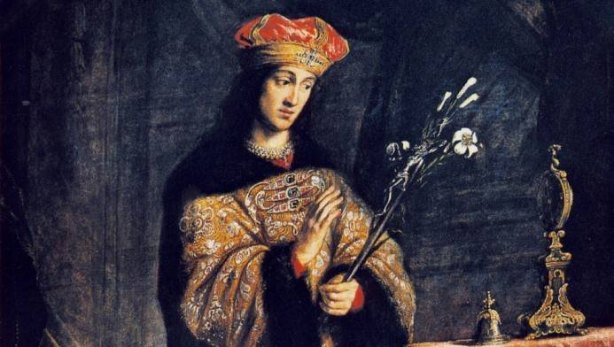 Un proverbio, un santo: Se 'd mars a tron-a, botaj a arbi catoma