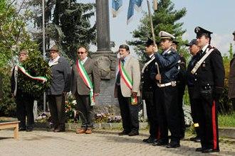 Fotoservizio del 25 aprile 2010 nel 65° anniversario della liberazione