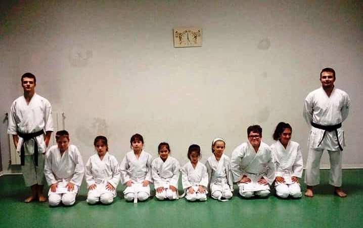 Distanti ma uniti con i ragazzi dello Enchoyama Karate Club di Salussola