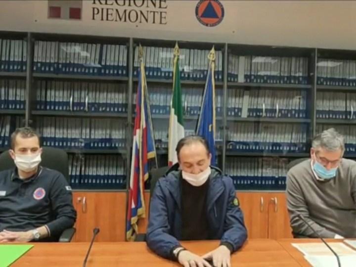 Virus covid-19: Le nuove ordinanze della Regione Piemonte con raccomandazione di mascherina per andare a fare la spesa
