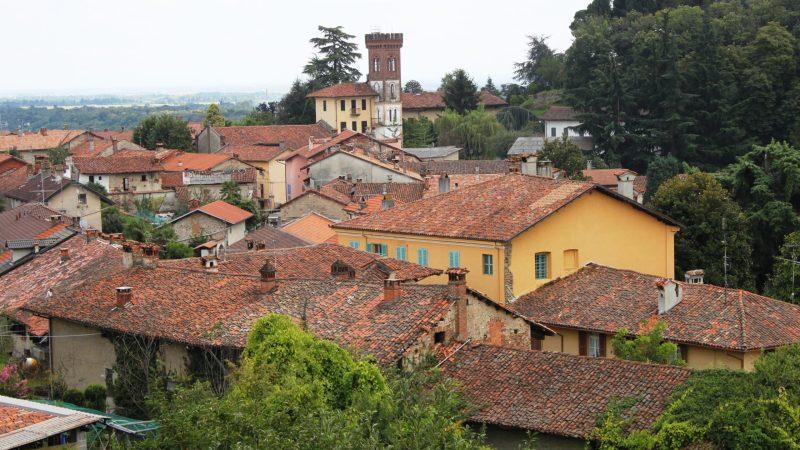 La casa torre di Via Canonico Nicolò Salza a Salussola