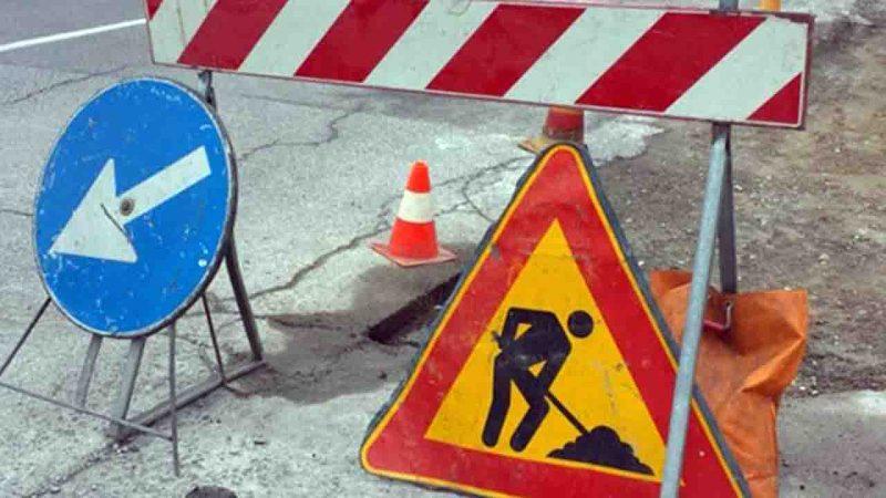 Lavori in Via san Secondo martire con restringimento della carreggiata