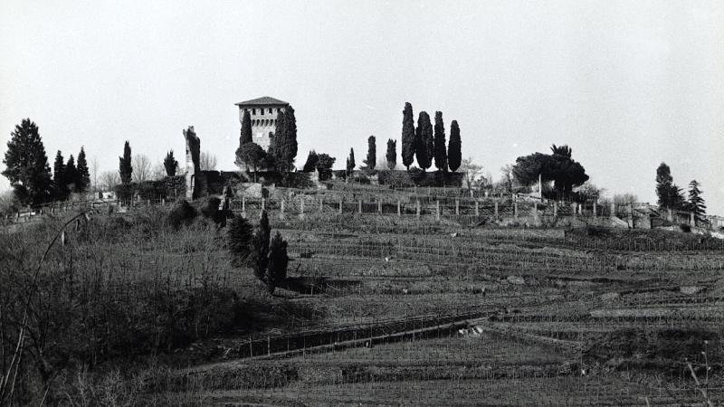 Vecchia Salussola: Copia del mastio del castello recinto su progetto dell'architetto Nigra