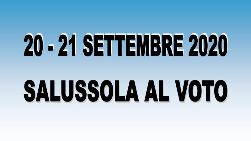 Salussola al voto: Dove, quando e come si vota il 20 e il 21 settembre 2020