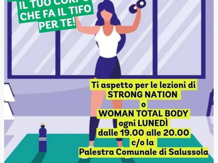 Strong nation e woman total body le lezioni riprendono lunedì