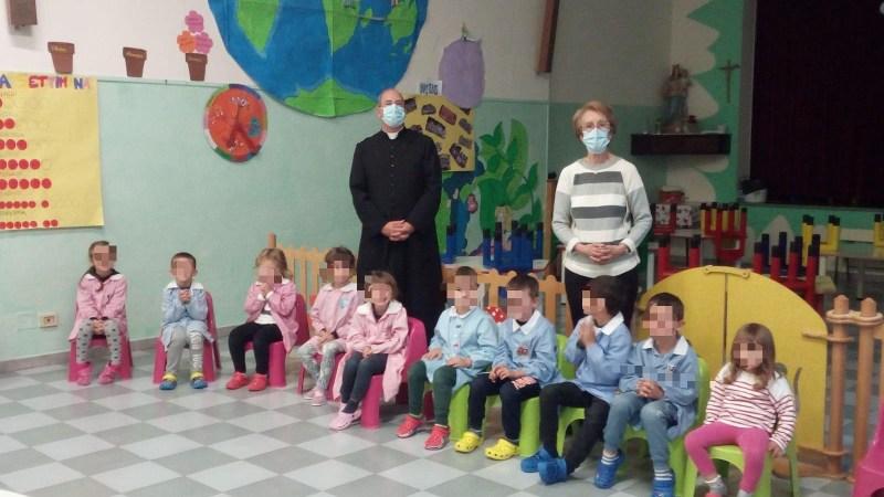 Festa degli Angeli Custodi all'asilo. FOTONOTIZIA