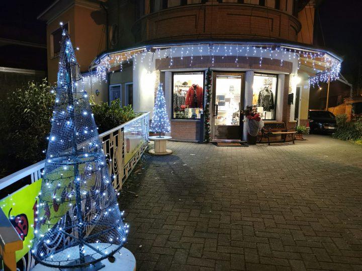 Luci di Natale alla Coccinella. FOTONOTIZIA