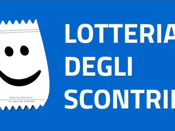 Sta arrivando la lotteria degli scontrini; da oggi si può ottenere il codice lotteria