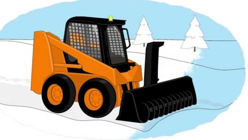 Chi toglierà la neve dalle strade comunali ?