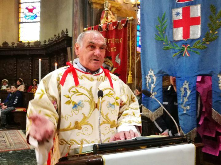 E' salito alla casa del Padre il diacono Ernesto Ratti, lunedì la sepoltura a Carisio