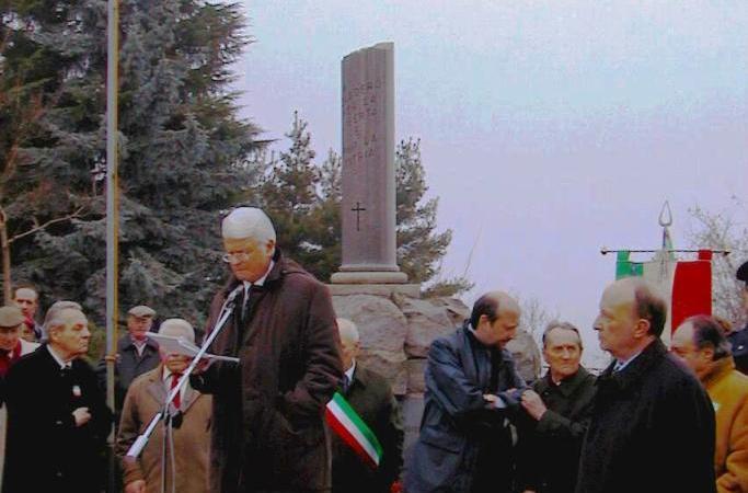 Il magistrato Giancarlo Caselli fu l'oratore ufficiale alla commemorazione di vent'anni fa dell'eccidio