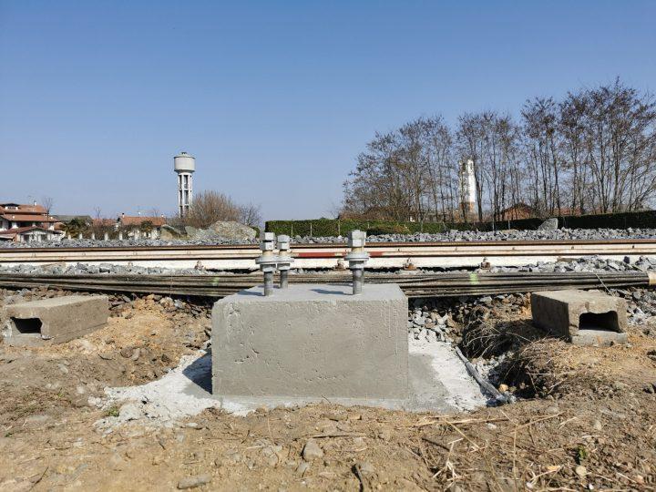 Ferrovia Santhià – Biella – Finalmente si vedono i plinti