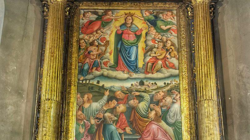 Il dipinto restaurato di Giovenone il Giovane è tornato al suo posto originale