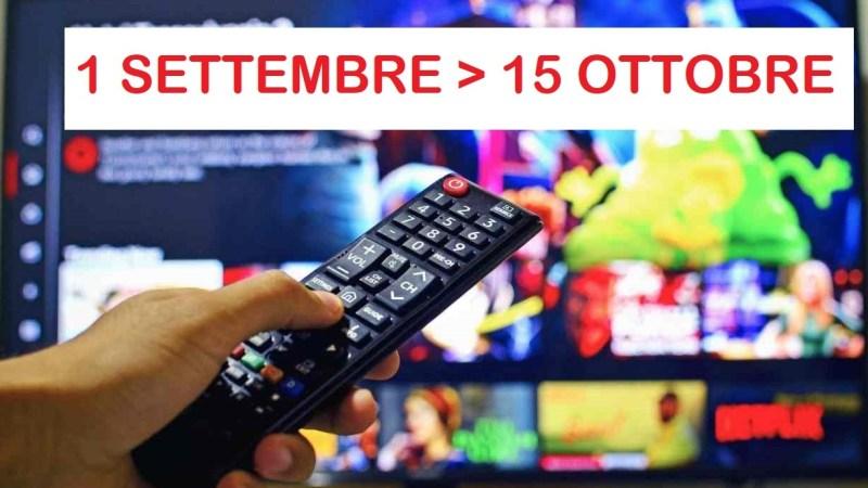 Inizieranno il 15 ottobre e non il 1° settembre le modifiche di codifica delle trasmissioni televisive. Il 2022 sarà un anno di risintonizzazioni