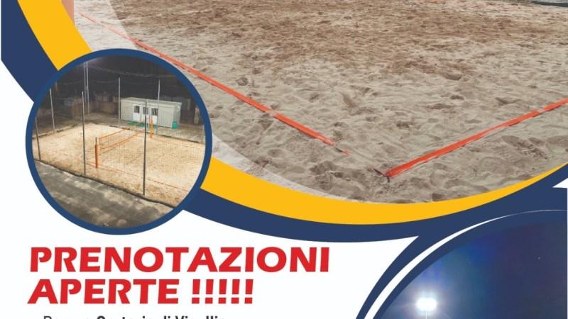 A Vigellio c'è un campo da beach Volley per il tempo libero