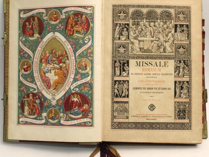 Se avete nostalgia o curiosità della Messa in latino, allora domani venite a Salussola