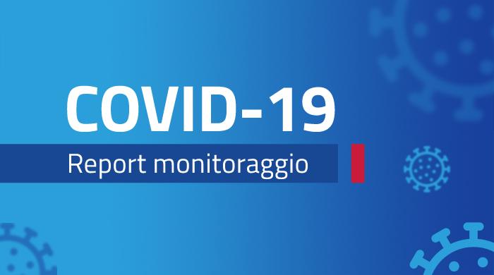 Banner monitoraggio settimanale Covid-19