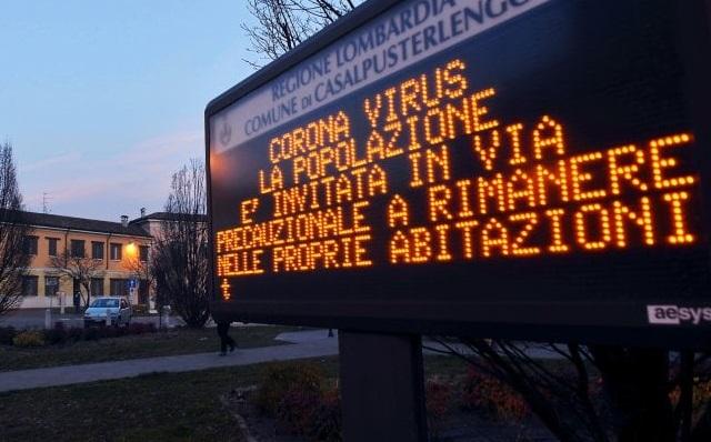 Coronavirus Italia Lodi