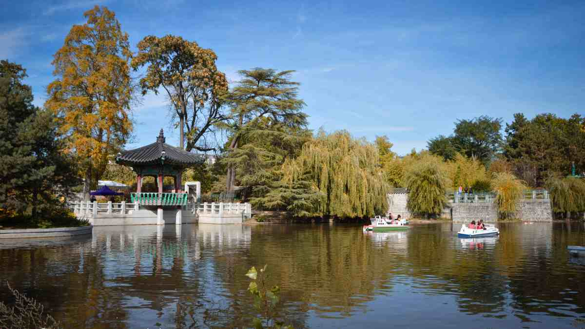 Autumn in Paris – Jardin d'Acclimatation