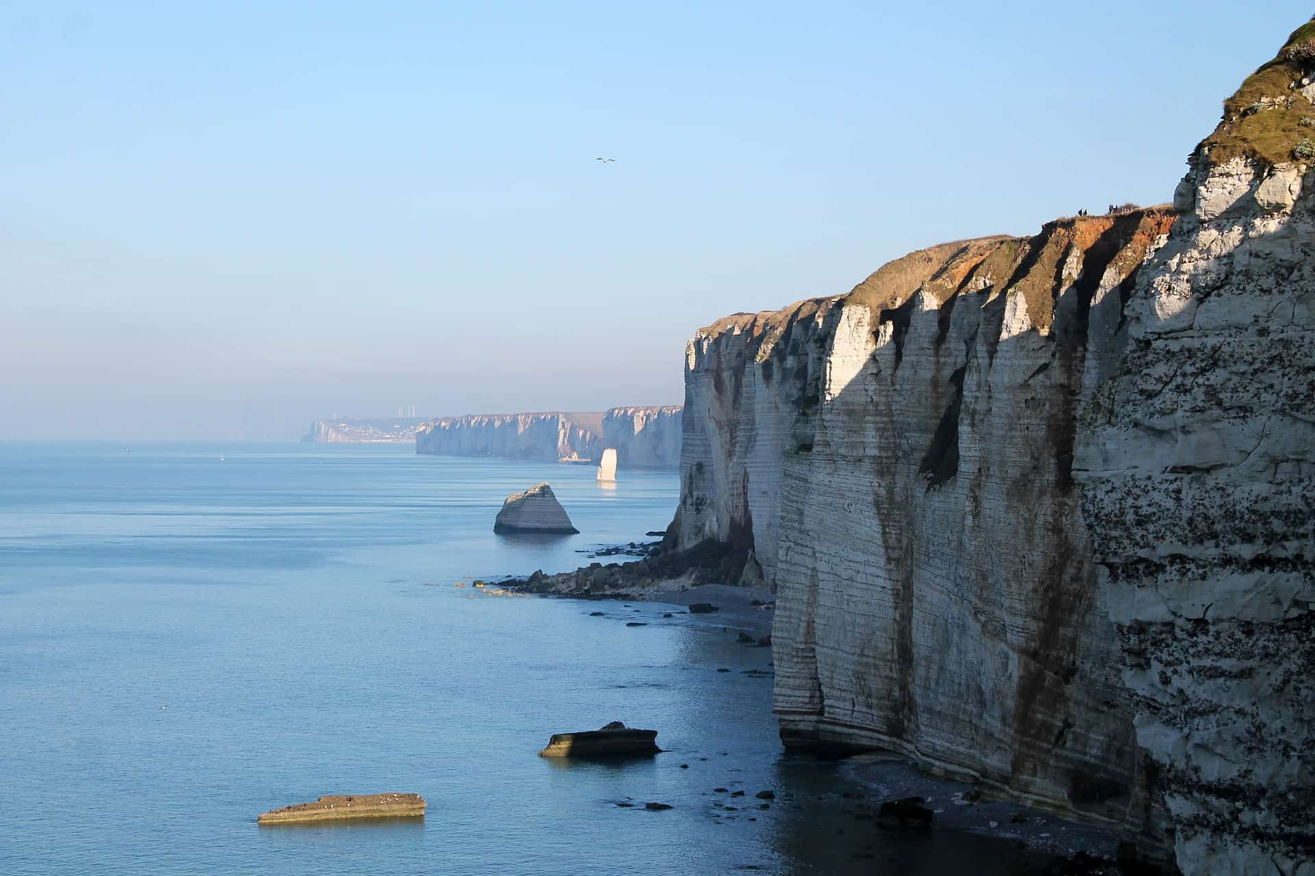 Just a couple of hours away from Paris and a perfect day trip get away: Dieppe at the Alabaster coast in Normandie