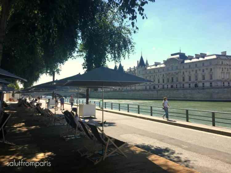Paris Plage - a good activity when visiting Paris in Summer - Paris in July, Paris in August