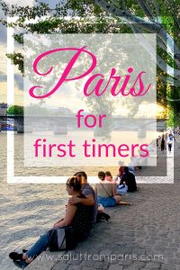 Paris for first timers