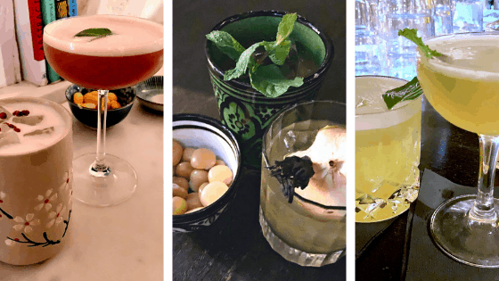 cocktails in Paris' speakeasy bars