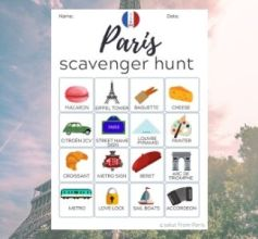 Paris Scavenger hunt