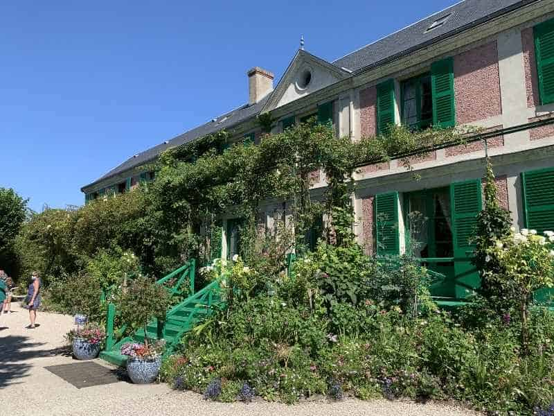 visit the house of Monet, who lived most of his live in Normandy, a 1h ride from Paris