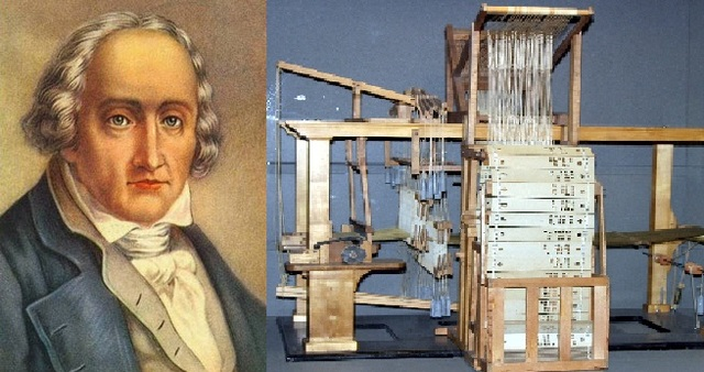 Jacquard inventor telar
