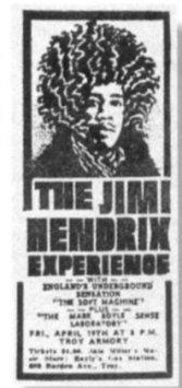 Live tour usa 1968