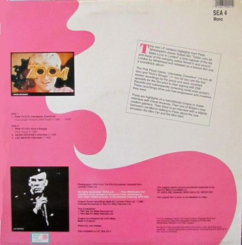 Swingin London Psichedelia peggior album dei pink floyd