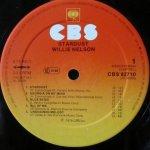 Willie Nelson Stardust Etichetta Lato 1