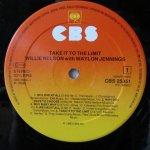 Willie Nelson Take It To The Limit Etichetta Lato 1
